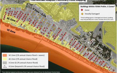Coastal communities should exercise caution in using FEMA Flood Maps as the primary indicator of coastal risk.